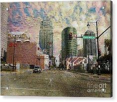 Truman Road Kansas City Missouri Acrylic Print by Liane Wright