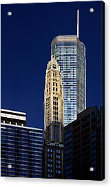 Trump International Hotel And Tower Chicago Acrylic Print by Christine Till