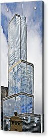 Trump Tower Chicago - A Surplus Of Superlatives Acrylic Print by Christine Till