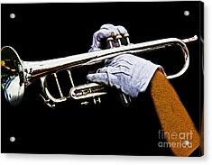 Trumpet Acrylic Print by Tom Gari Gallery-Three-Photography