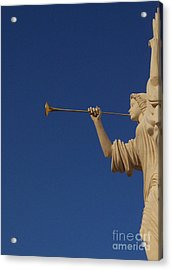 Trumpeter  Acrylic Print by First Star Art
