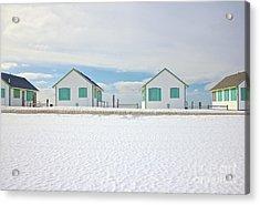 Truro Cottages Acrylic Print