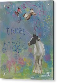 Trust In Magic Acrylic Print by Kimberly Santini