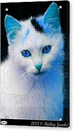 Trust In My Blue Acrylic Print