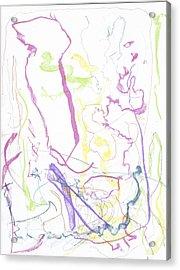 Trust On Canvas Acrylic Print by Joshua Burke