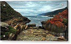Tsitsikamma Rocky Ocean Acrylic Print
