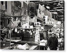 Tsukiji Fish Market Tokyo Acrylic Print by For Ninety One Days