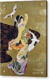 Tsuru No Mai Acrylic Print