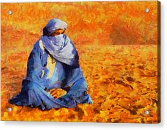 Tuareg 2 L.e. Acrylic Print by George Rossidis
