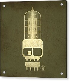 Tubeskull Acrylic Print by Milton Thompson