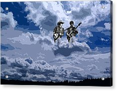 Tucker Boys In The Clouds 2 Acrylic Print
