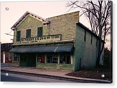 Tuckers Country Store In Virginia Acrylic Print by Thomas D McManus