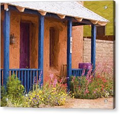 Tucson 821 Barrio Painterly Effect Acrylic Print