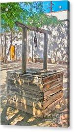 Tucson Arizona Well Acrylic Print by Gregory Dyer