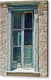 Tucson Arizona Window Acrylic Print by Gregory Dyer