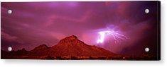 Tucson Az Usa Acrylic Print by Panoramic Images