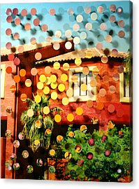 Tucsoncenter Ss2blue Acrylic Print by Irmari Nacht