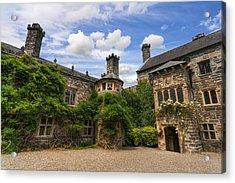 Tudor Castle Acrylic Print by Ian Mitchell