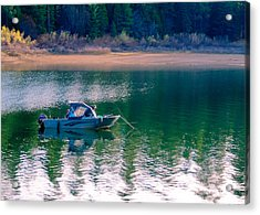 Acrylic Print featuring the photograph Tuesday's Dinner by Jan Davies
