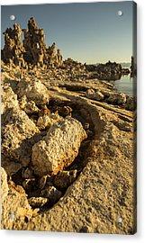 Tufa Rock Acrylic Print