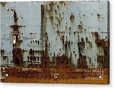 Acrylic Print featuring the photograph Tug- A Fisherman's Impression by Joy Angeloff