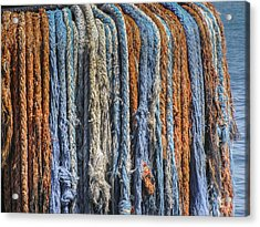 Acrylic Print featuring the photograph Tug Boat Dreads by Bradley Clay