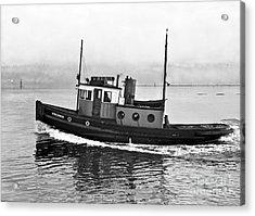 Tug Boat Virginia 1930 Acrylic Print