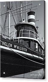 Tugboat Helen Mcallister II Acrylic Print by Clarence Holmes