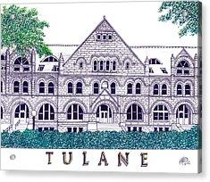 Tulane Acrylic Print