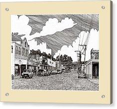 Tularosa New Mexico Acrylic Print by Jack Pumphrey