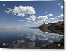 Tule Lake In Northern California Acrylic Print