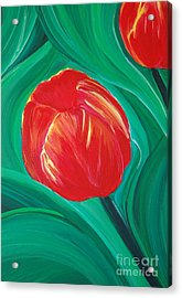 Tulip Diva By Jrr Acrylic Print by First Star Art