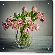 Tulip Still Life Acrylic Print
