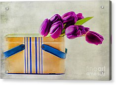 Tulips For Mom Acrylic Print by Darren Fisher