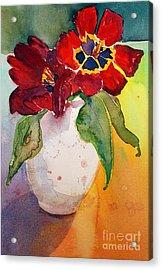 Tulips Acrylic Print by Gwen Nichols