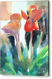 Tulips Together Acrylic Print