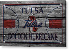 Tulsa Golden Hurricane Acrylic Print by Joe Hamilton