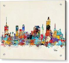 Tulsa Oklahoma Acrylic Print by Bri B