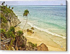 Tulum Beach Acrylic Print