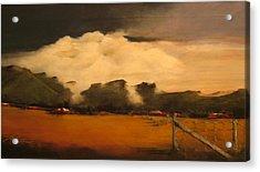 Tumbling Clouds Acrylic Print