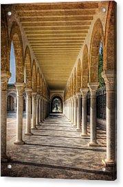 Acrylic Print featuring the photograph Tunisian Arches / Monastir by Barry O Carroll