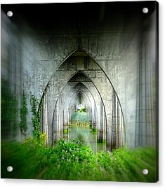 Tunnel Effect Acrylic Print