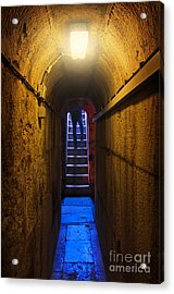 Tunnel Exit Acrylic Print