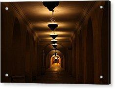 Tunnel Of Light Acrylic Print