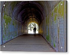 Tunnel Of Love Acrylic Print