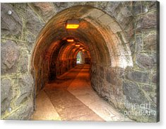 Tunnel Through It Acrylic Print