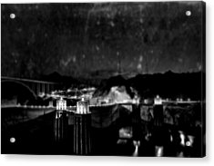 Tunnel Through Twilight Acrylic Print