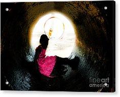 Tunnel Vision Gc Acrylic Print by Jose Benavides