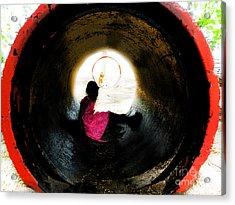 Tunnel Vision Acrylic Print by Jose Benavides
