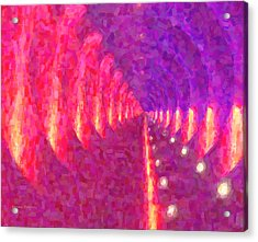 Tunnel Vision Acrylic Print by Kenny Francis